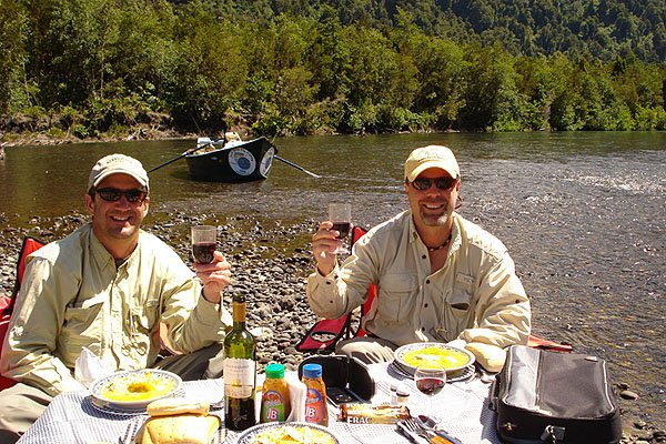 Lake District Chile fly fishing guide
