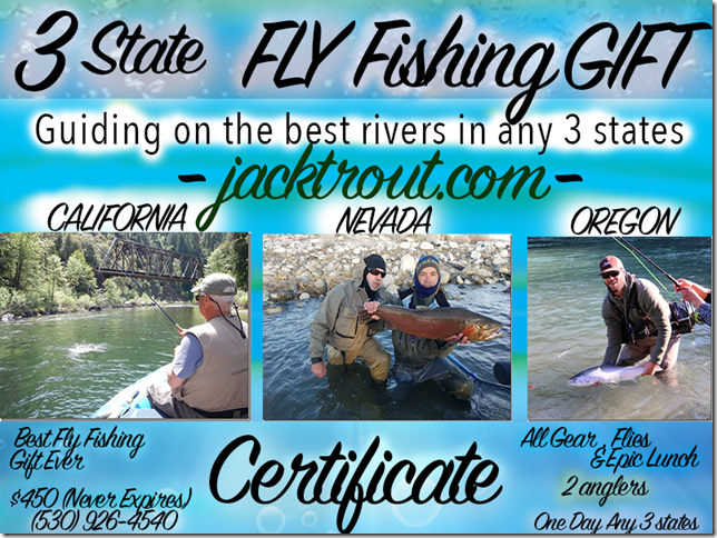 3 State Fly Fishing Gift Certificate