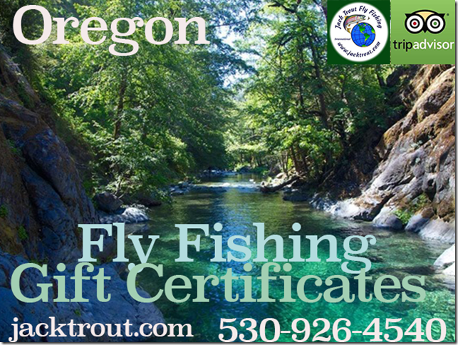 Oregon Fly Fishing Gift Certifcates 1