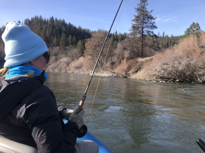 Fly Fish On The Middle Klamath River