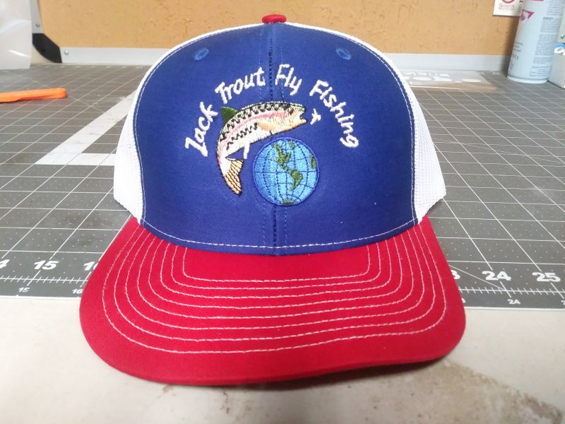 Jack Trout Fly Fishing International 25th Anniversary Hat 25 USD