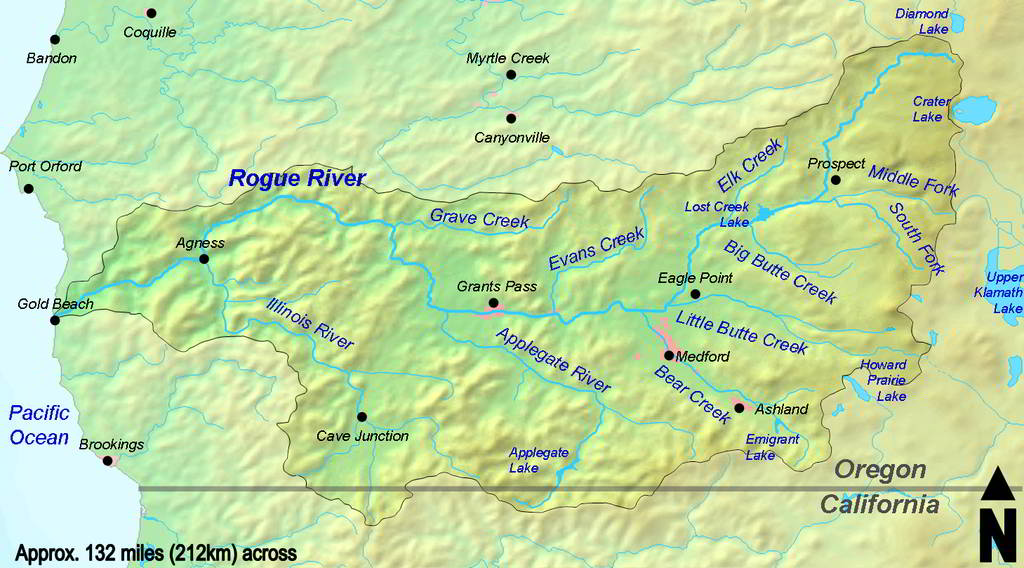 Rogue River Watershed