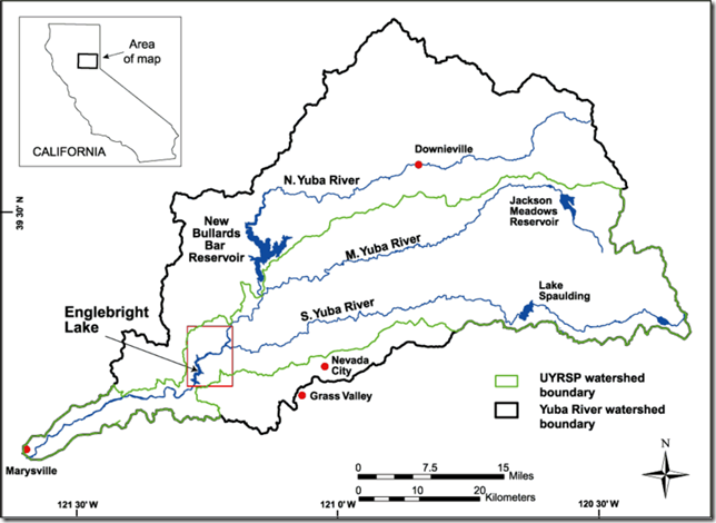 Yuba river watershed